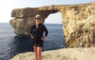 La ventana azul, Malta